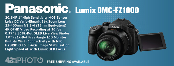 Panasonic Lumix DMC-FZ1000 20.1 Megapixel Digital Camera