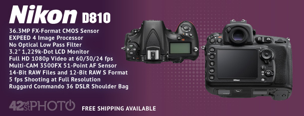 Nikon D810 36.3 Megapixel Digital Camera Body