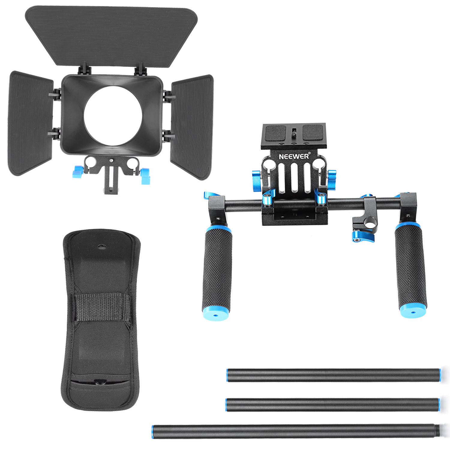 42631df34 ... Neewer DSLR Movie Video Making Rig Set System Kit for Canon Nikon Sony  Pentax ...