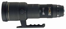 Sigma 500mm f/4.5 EX DG APO HSM Autofocus Lens for Sony