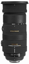 Sigma 50-500mm f/4.5-6.3 DG OS HSM APO Lens For Nikon (95mm)