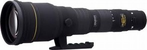 Sigma 300-800mm f/5.6 EX DG APO IF HSM Lens For Canon
