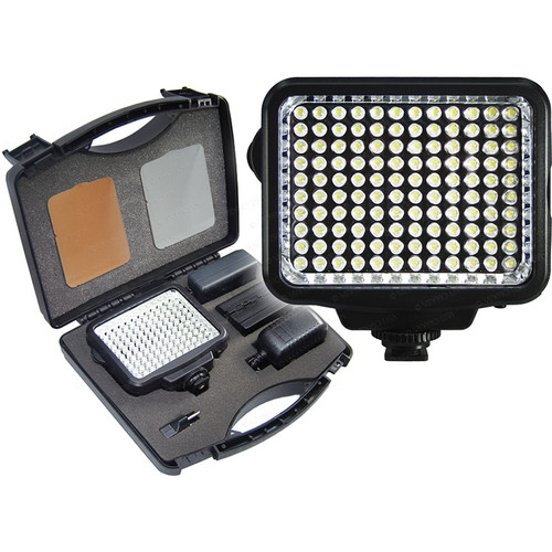 42nd street photo precision k 120 k 120 flashes amp lights precision k 120 on camera led video light kit aloadofball Choice Image