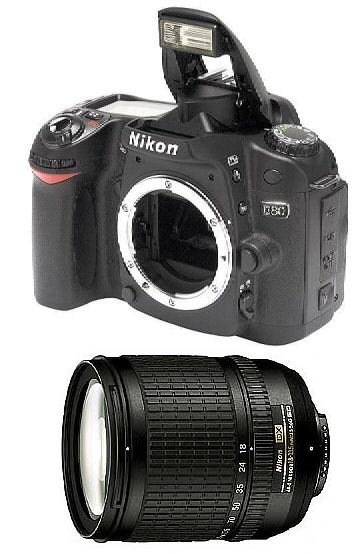 Nikon D80 10.2 Megapixel Digital Camera W/ Nikon 18-135mm Lens