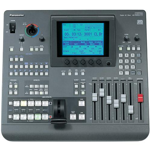 42nd Street Photo - Panasonic Ag-mx70 - Ag-mx70 - Digital A  V Mixers  V